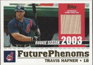 2003 Topps Traded Future Phenoms Relic Hafner
