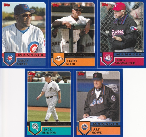 2003 Topps Traded Managers