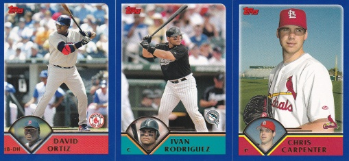 2003 Topps Traded Ortiz Pudge Carpenter