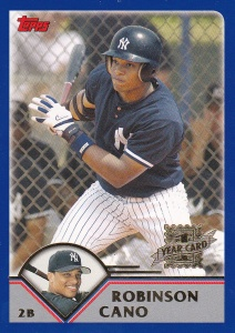 2003 Topps Traded Robinson Cano RC