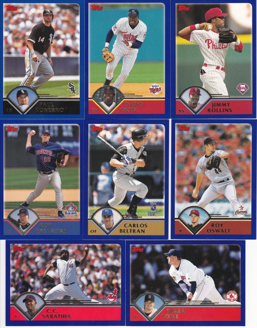 2003 Topps younger stars