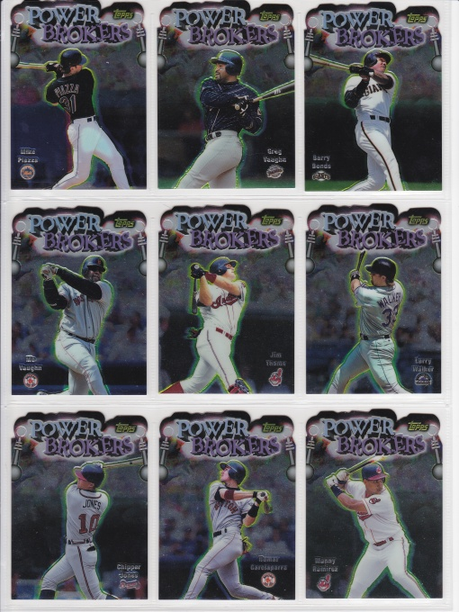 1999 Topps Power Brokers complete_0001