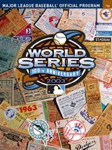 2003 World Series program