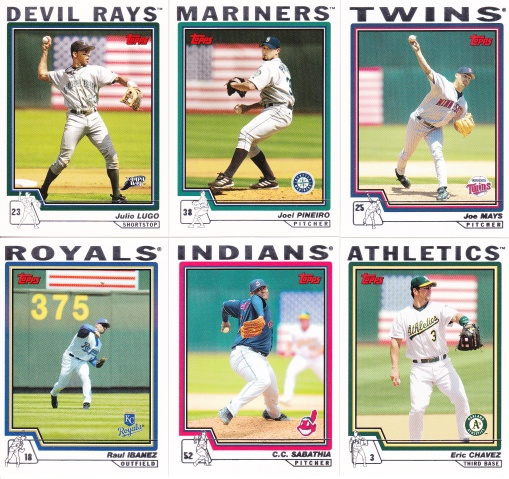 2004 Topps American Flag cards
