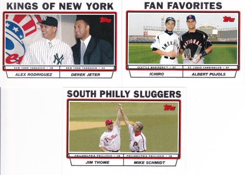 2004 Topps Combo cards