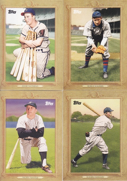 2010 Topps Turkey Red complete cards I liked