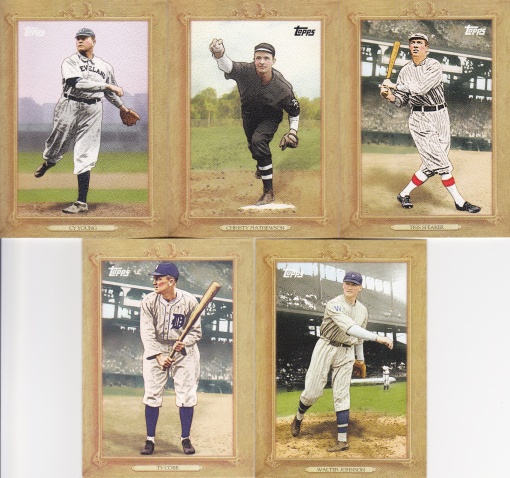 2010 Topps Turkey Red players in original set