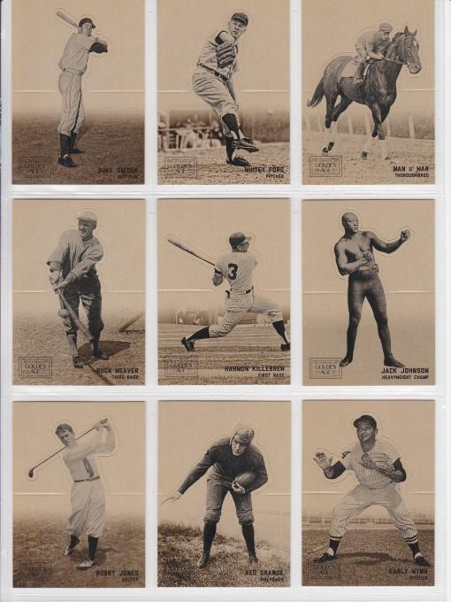 2012 Golden Age Batter-up complete