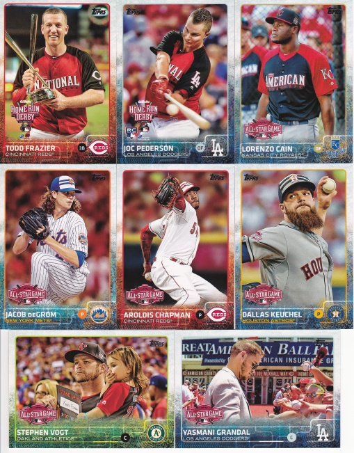 2015 Topps Update All-Star game