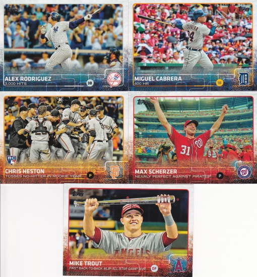 2015 Topps Update Highlights
