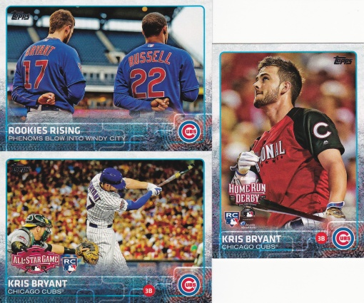 2015 Topps Update Kris Bryant cards