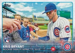 2015 Topps Update Kris Bryant RC