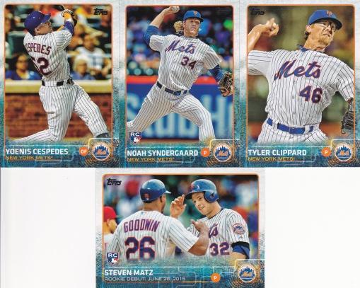 2015 Topps Update Mets