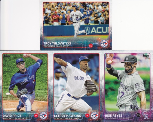 2015 Topps Update midseason traded players