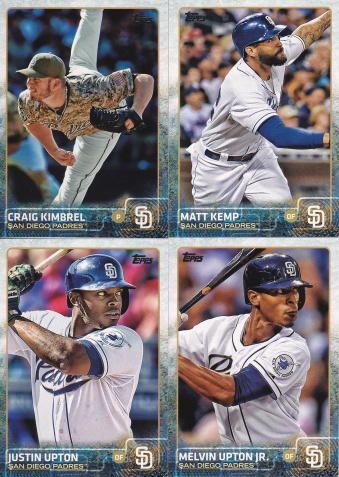 2015 Topps Update Padres