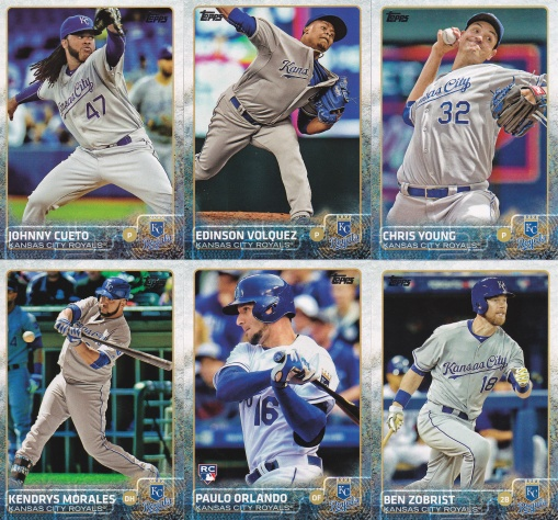 2015 Topps Update Royals