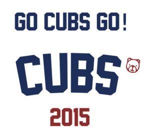 Go Cubs Go sign