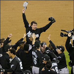 Josh Beckett 2003 World Series