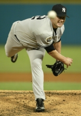 Roger Clemens 2003 WS game 4