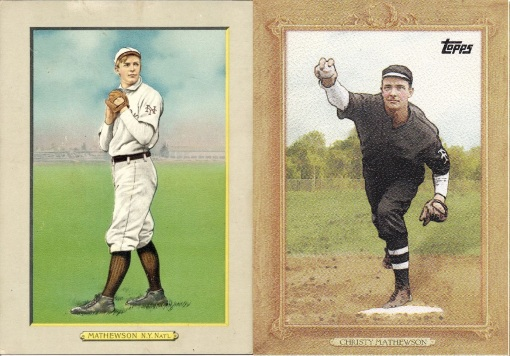 Turkey Red compare Christy Mathewson