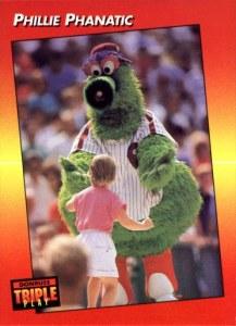1992 Triple Play Phillie Phanatic