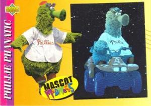 1993 Fun Pack Mascot Madness Phillie Phanatic