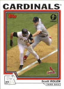 2004 Topps 1st edition Rolen