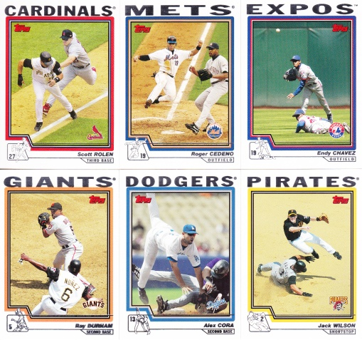 2004 Topps action shots