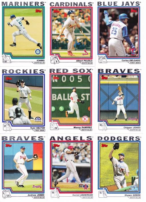 2004 Topps best in baseball