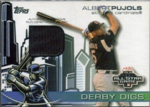 2004 Topps Derby Digs Pujols