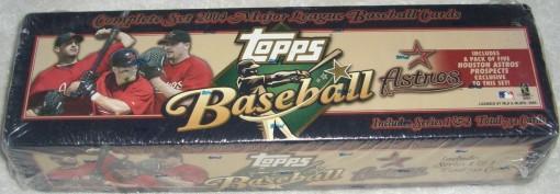 2004 Topps factory set Astros