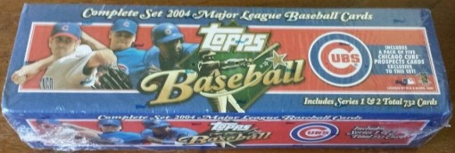 2004 Topps factory set Cubs