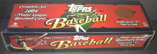 2004 Topps factory set hobby red 2
