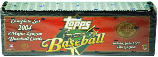 2004 Topps factory set hobby red