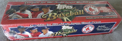 2004 Topps factory set Red Sox