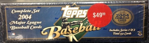 2004 Topps factory set retail blue