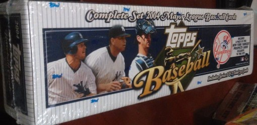 2004 Topps factory set Yankees