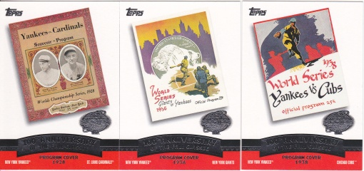 2004 Topps Fall Classic Covers s1 box