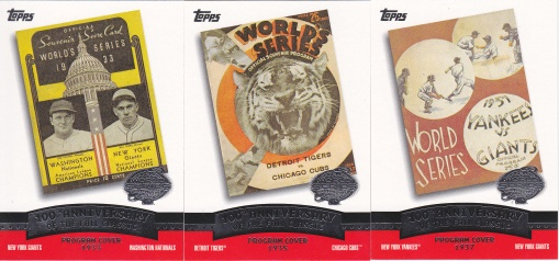 2004 Topps Fall Classic Covers s2 box