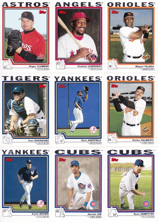 2004 Topps free agents