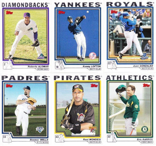2004 Topps he played for them