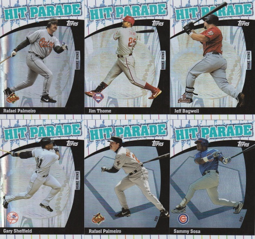 2004 Topps Hit Parade s2 box