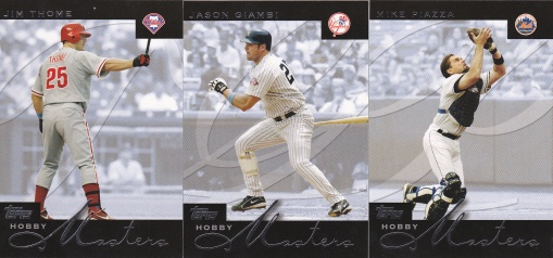 2004 Topps Hobby Masters s1 box
