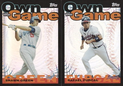 2004 Topps Own the Game s1 box