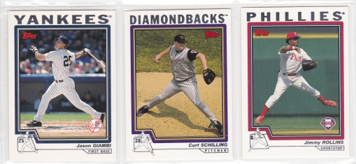 2004 Topps Pre-production