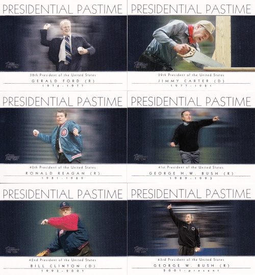 2004 Topps Presidential Pastime s2 box