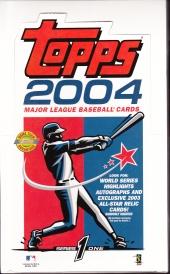 2004 Topps s1 HTA jumbo box