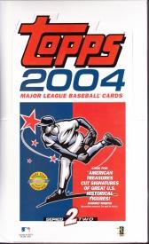 2004 Topps s2 box