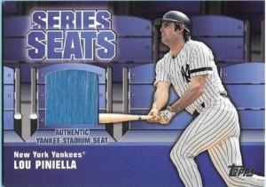 2004 Topps Series Seat Lou Piniella