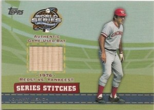 2004 Topps Series Stitch Johnny Bench